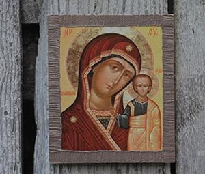 Фото иконы Казанской Божьей матери