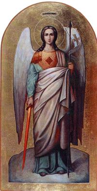 Фото иконы Архангела Михаила