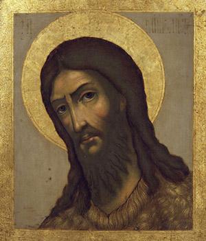 Икона святого Иоанна Предтечи