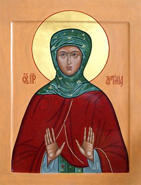 Иконы Святой Фотинии (Светланы) Палестинской