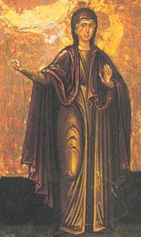 Икона Св. Марина (Маргарита)