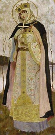 Икона Святой княгини Ольги