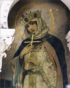 Именная икона Ольги