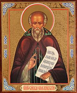 Иконы Святого Саввы Сторожевского