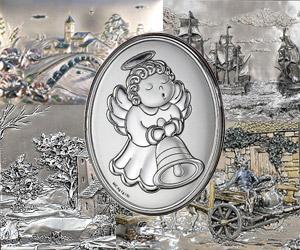 Подарочные серебряные картины