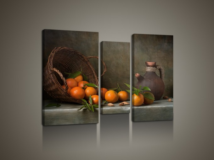 Натюрморт с фруктами для интерьера