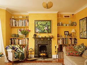 Картины в гостиной фото